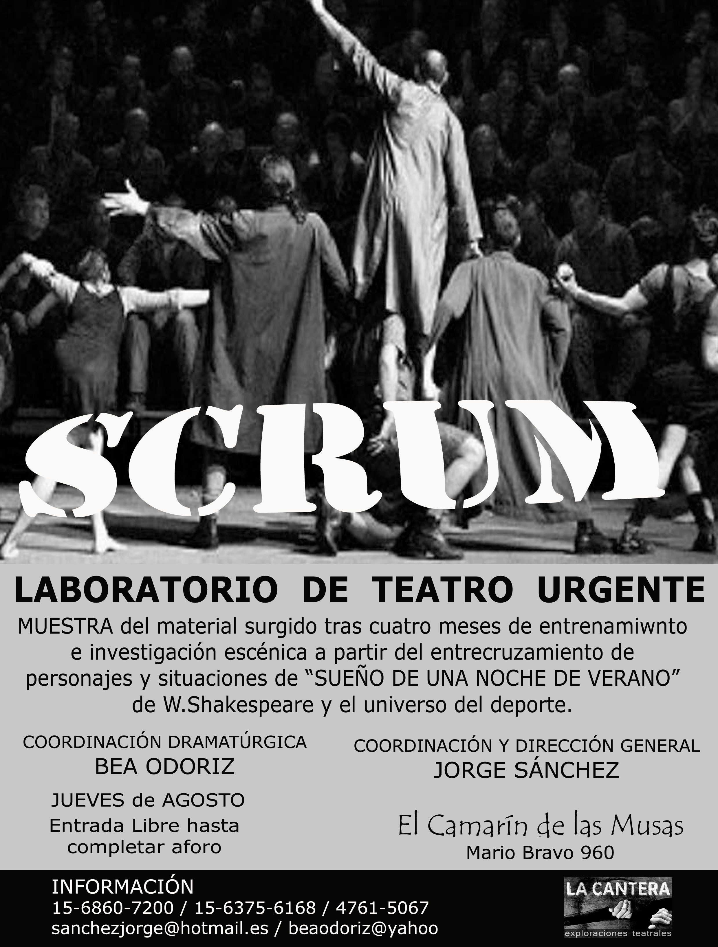 Cartel SCRUM